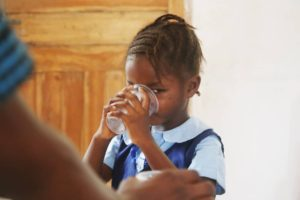Deworming Exercise in the InnerCity Mission School
